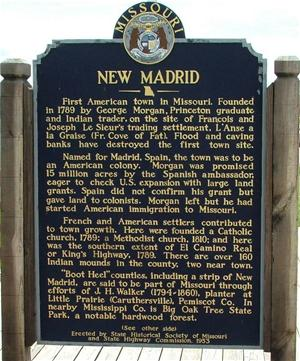 Missouri State Historical Society Marker